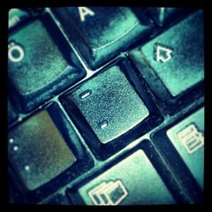 Durchaus in Gebrauch - der Bindestrich auf meiner Tastatur.