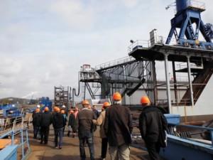 Firmenpräsentation und Führung bei der Neuen Jadewerft und Nordwest-Ölleitung in Wilhelmshaven