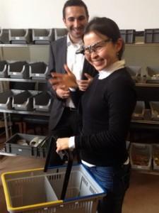 Kommissionierung mit Google Glasses bei Ubimax in Bremen
