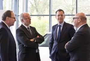 Prof. Thomas Wimmer, Andreas Kellermann, Senator Martin Günthner, Prof. Raimund Klinkner