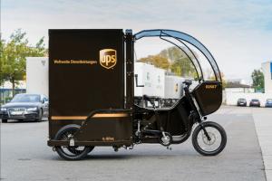 E-Cargobikes UPS