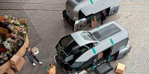 Renault Ez-Pro autonome Pods