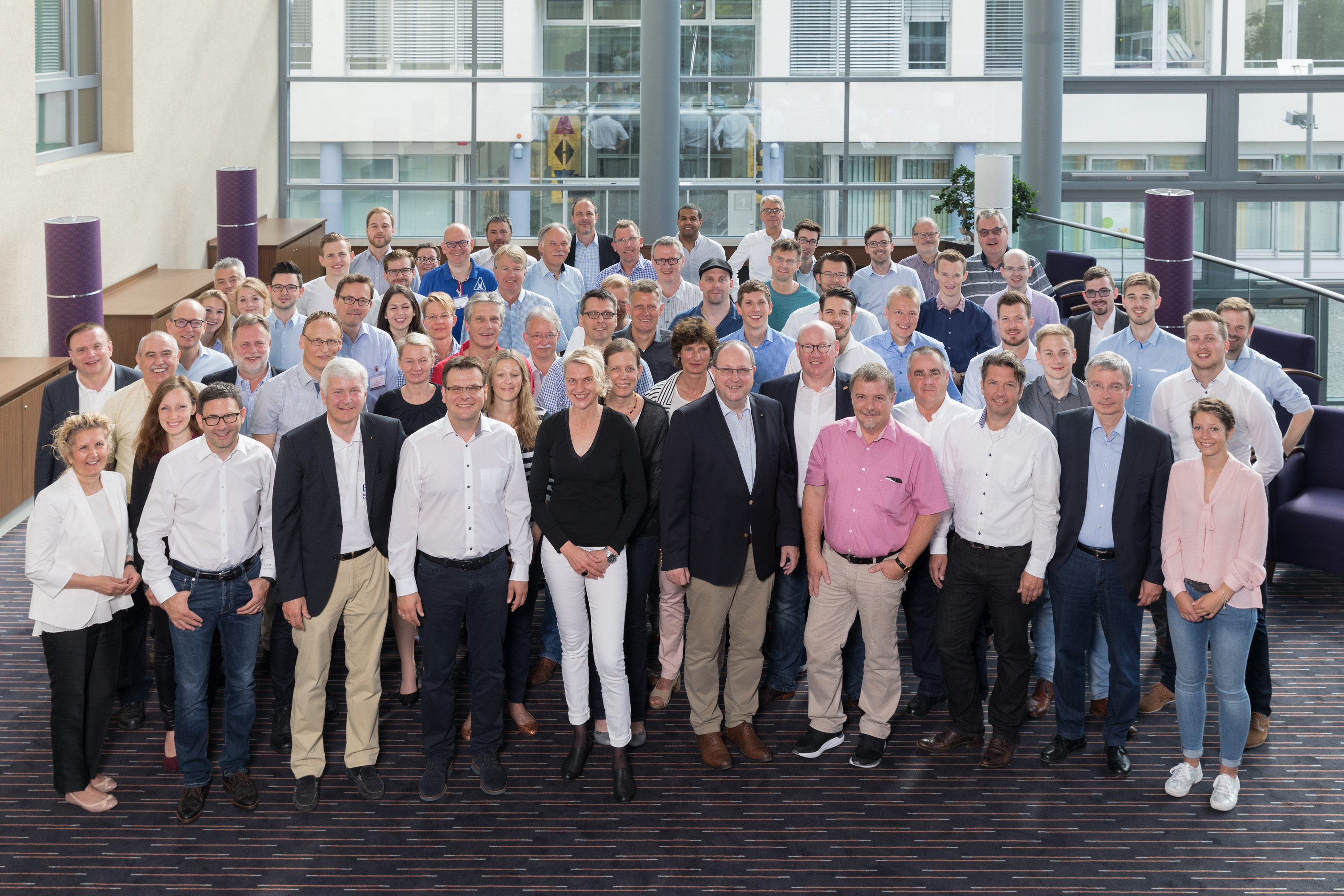 Chapter Chairs and personnel from head office at the Chapter Management Meeting in Erfurt