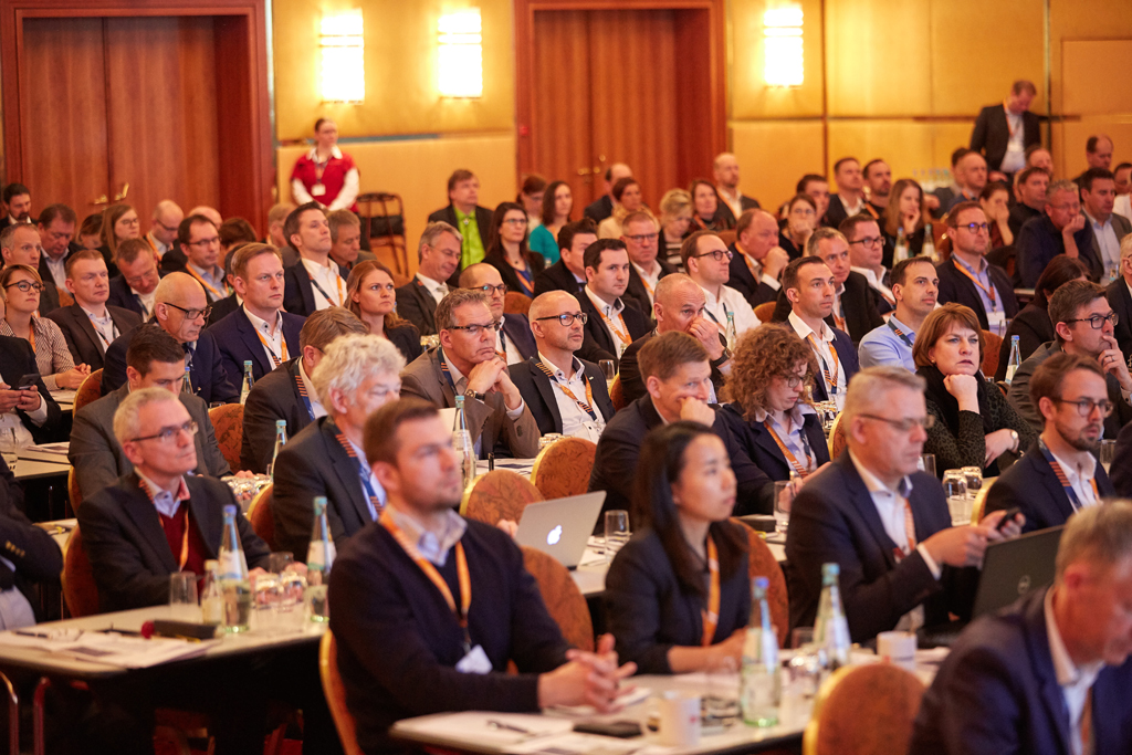 Attendees listened with great interest to the presentations at the Trade Logistics Congress in Cologne in March of this year.