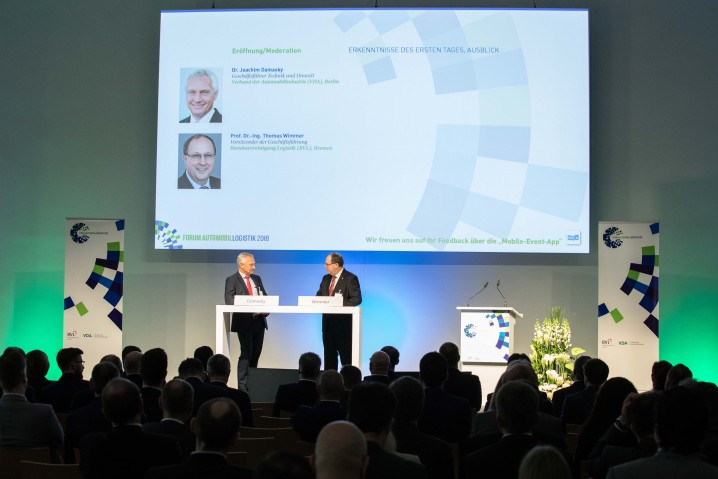 Forum Automobillogistik 2018, 1. Februar