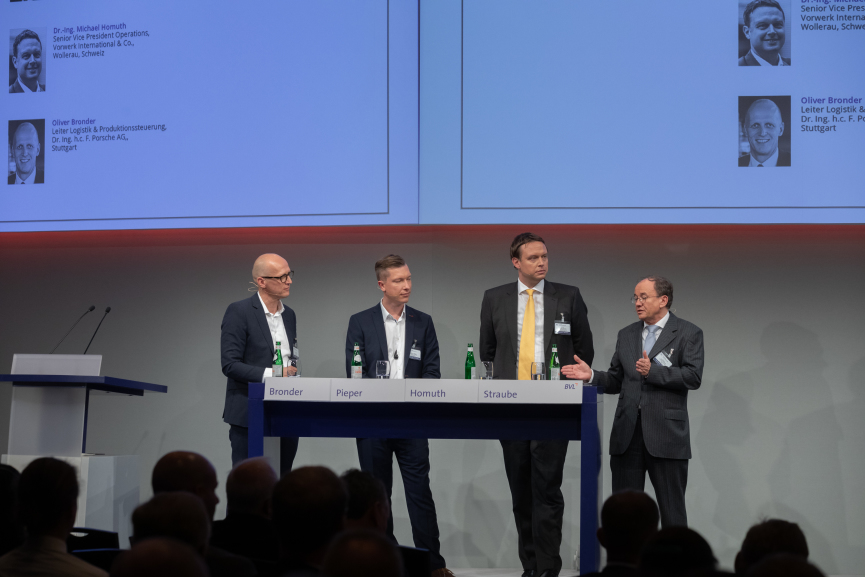 Deutscher Logistik-Kongress, 23. Oktober