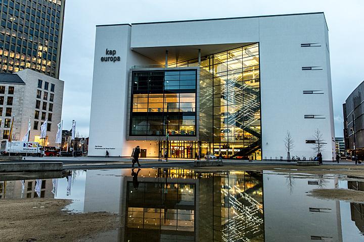 Im Kongresshaus Kap Europa nahe der Messe in Frankfurt am Main treffen sich am 31. Januar und 1. Februar 2018 die Logistiker der Automobilindustrie. Foto: Kai Bublitz